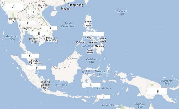 Kenampakan Alam Keadaan Sosial Indonesia Negara Myanmar Birma Ibu Kota